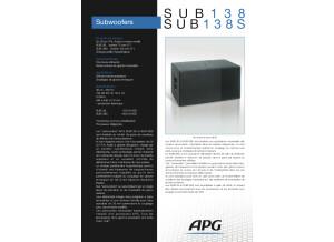 S U B 1 3 8 SUB 138S - APG
