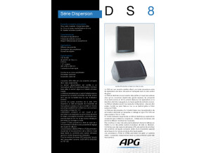 Télécharger la fiche technique DS8 - APG