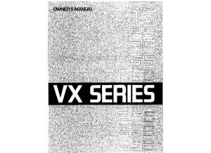 Yamaha VX 65D Amp manual