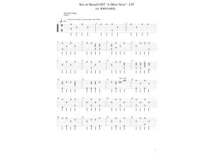 koe no katachi OST - Lit PDF