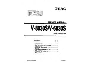 Teac V 6030S Service Manual