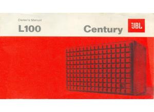 Jbl L100 Owners Manual