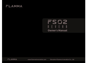 Flamma FS02 Reverb (Manual)