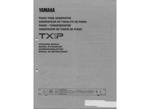 Yamaha TX1P user manual 87