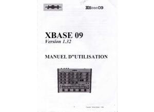 xbase09 manuel français