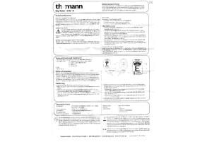 Thomann - Clip Tuner - CTG-10 - User manuel - Deutsch
