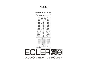 Service manual Ecler Nuo2