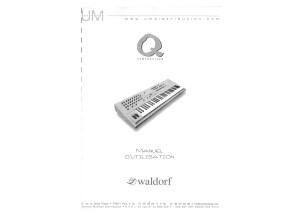 Waldorf Q manuel utilisateur FR