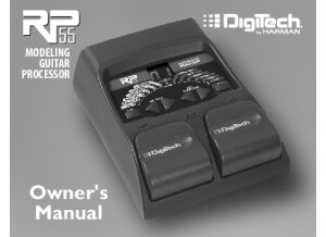 DigiTech_RP55 Manual 18-0838V-A