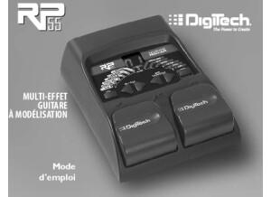 Digitech RP 55 Mode d'emploi