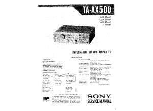 Sony_ta-ax500_service