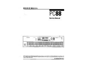 Kurzweil PC88 - Service mamual