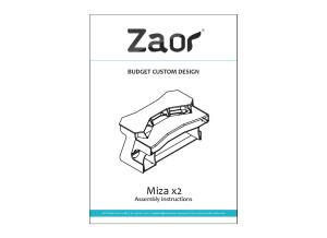 Miza-X2-Manuel D'assemblage