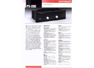 amcron PS200 original