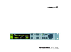 tc electronic DBMAX V 2.9