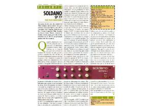 Soldano- SP-77-series II - Test Guitar&Bass - mars 1995