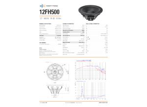 12FH500-8 500w 3.9kg