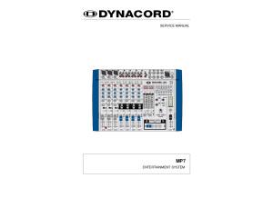 Dynacord MP7 schéma