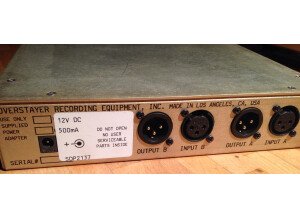 Overstayer Stereo Dynamics Processor