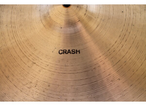 """Paiste 2002 Crash 20"""" Black Label"""