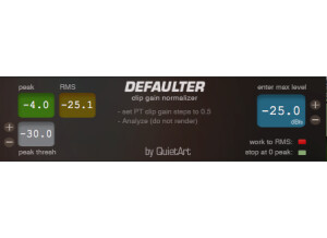 defaulter 1.5 screenshot