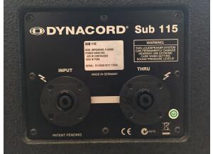 Dynacord Sub 115