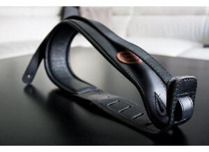 Richter Sangle cuir matelassé 7cm - Artisanale Dragon custom BK