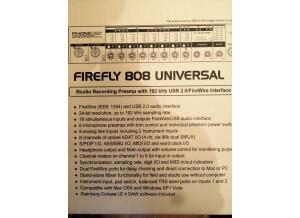 Phonic Firefly 808 Universal (26789)