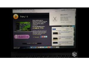 "Apple MacBook Pro retina 15"" late 2013 (10548)"