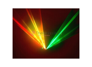JB Systems Twinbeam Color Laser Mk3