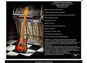 Fender Custom Shop Precision Bass RELIC 59'
