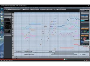 Screenshot from Studio time