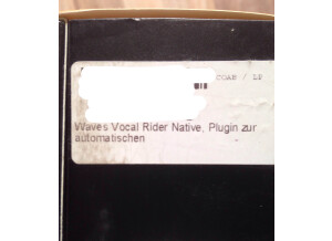 Waves Vocal Rider