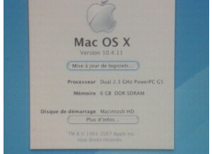Apple Power Mac G5 2x2,3 Ghz (96978)