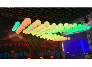 Light moving lights from Eastsun Orbisfly 2