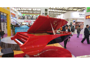 Piano Boat Red 2