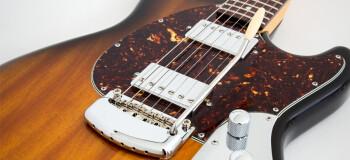 Music Man StingRay Guitar : MC STINGRAY TSUNBURST DETAIL 1