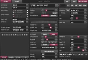 JamOrigin MIDI Guitar 2 : MIDI Guitar