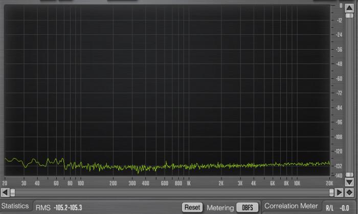 Yamaha 01V96i : 49 01v96i noise out faders a 0dBs, FS +13dBus
