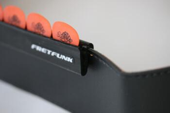 Fretfunk Strap Mounted Guitar Pick Holder - Deluxe Edition : Fretfunk Strap Mounted Guitar Pick Holder Deluxe Edition (Article)