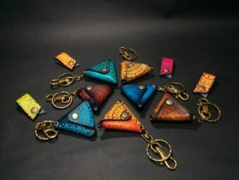 Doribari Leather Craft Leather Pick Case : Doribari Leather Craft Leather Pick Case (Article)