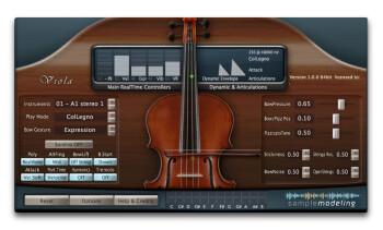 Sample Modeling The Viola : ColLegno