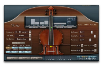 Sample Modeling The Viola : Double