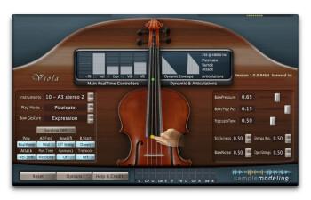 Sample Modeling The Viola : PizzBartok