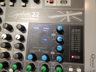 Soundcraft Signature 22 MTK : Soundcraft Signature 22 MTK Musikmesse 2016 @ AF