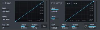 PreSonus Studio 192 : comp gate