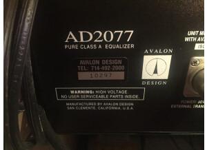 Avalon AD2077