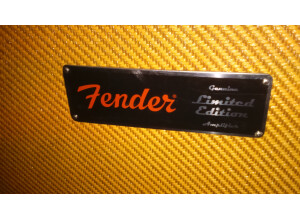Fender Hot Rod Deluxe - Lacquered Tweed & Jensen C12N Limited Edition