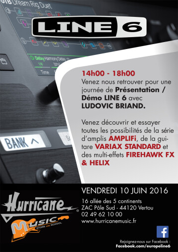 Line 6  Hurricane