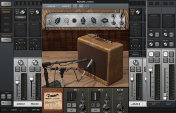 UAD Fender '55 Tweed Deluxe in Console application